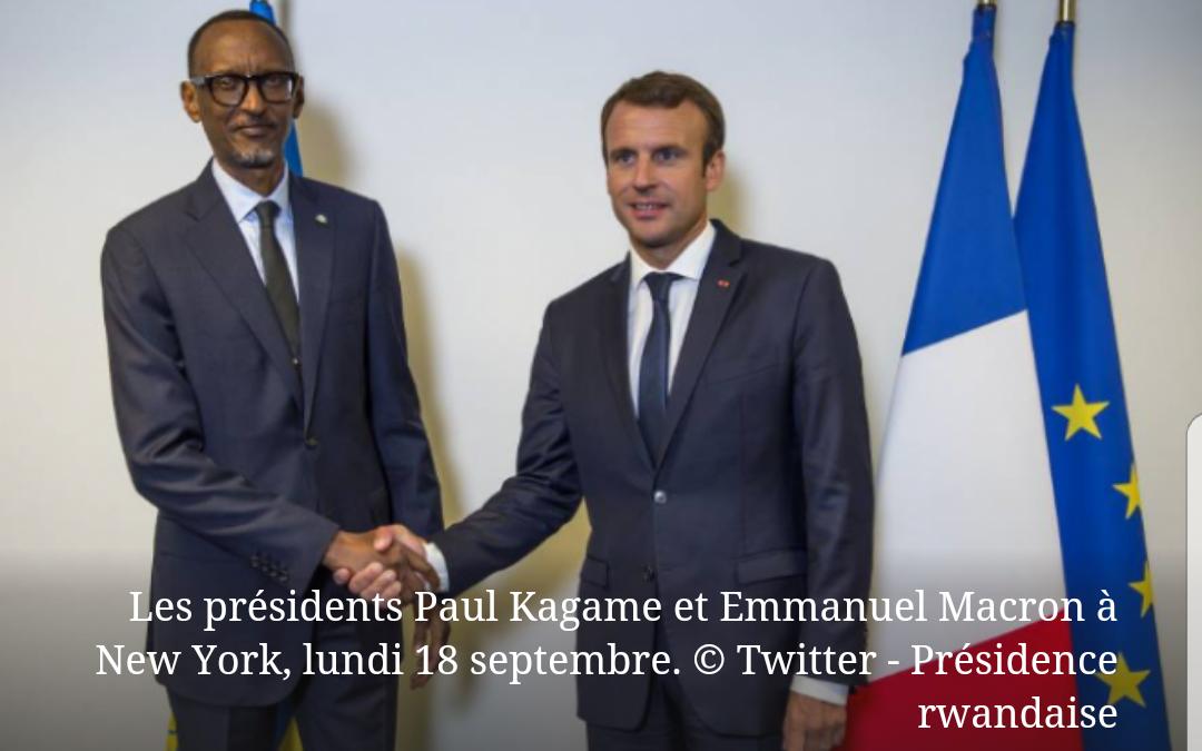 Tête-à-tête Macron – Kagame à New York