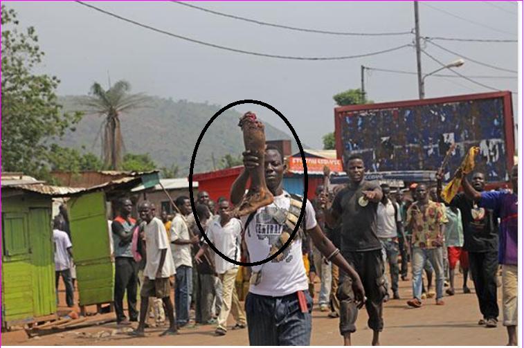 La Centrafrique sous la menace d'un génocide
