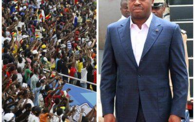 Togo: des centaines de milliers de manifestants anti- Eyedema à Lomé