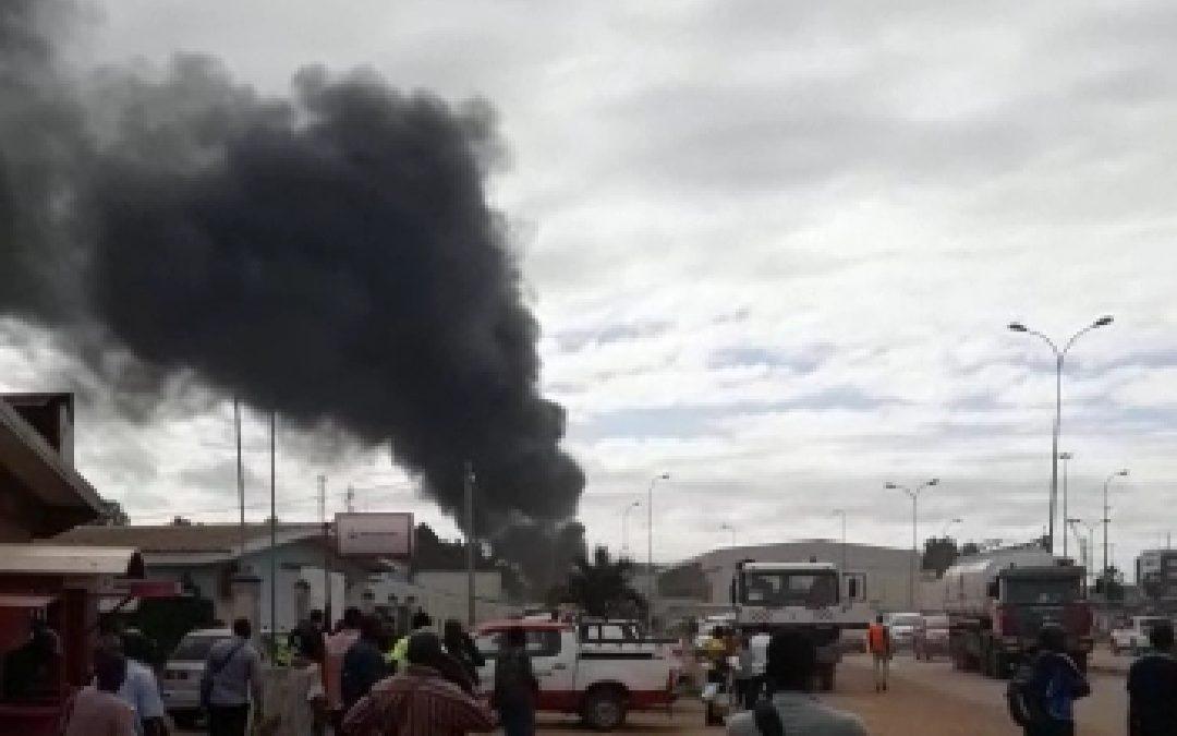 Urgent : début d'un incendie à SGEPP !