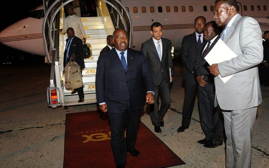 Gabon: Ali Bongo évacué en France