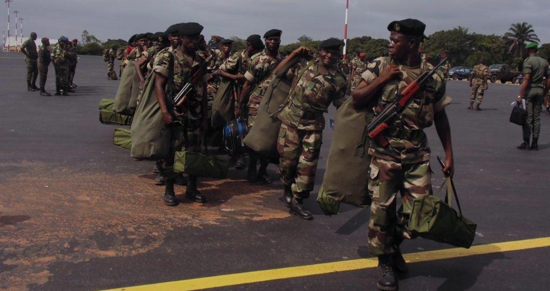 Gabon: près de 500 militaires dépêchés à Port-Gentil