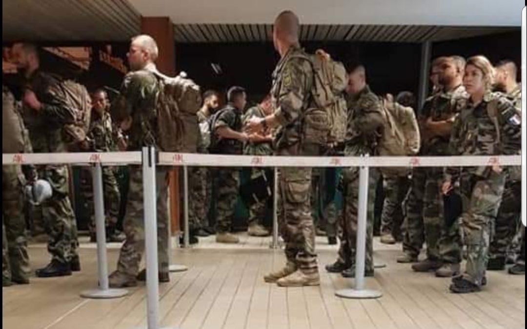 Gabon : une centaine de militaires français arrivée à Libreville