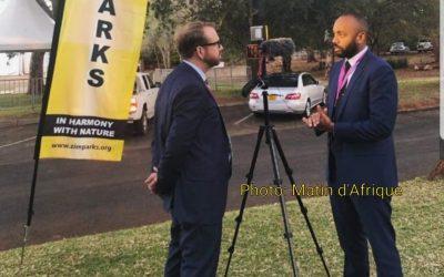 Nourredine Bongo représente le Gabon à un sommet africain au Zimbabwe