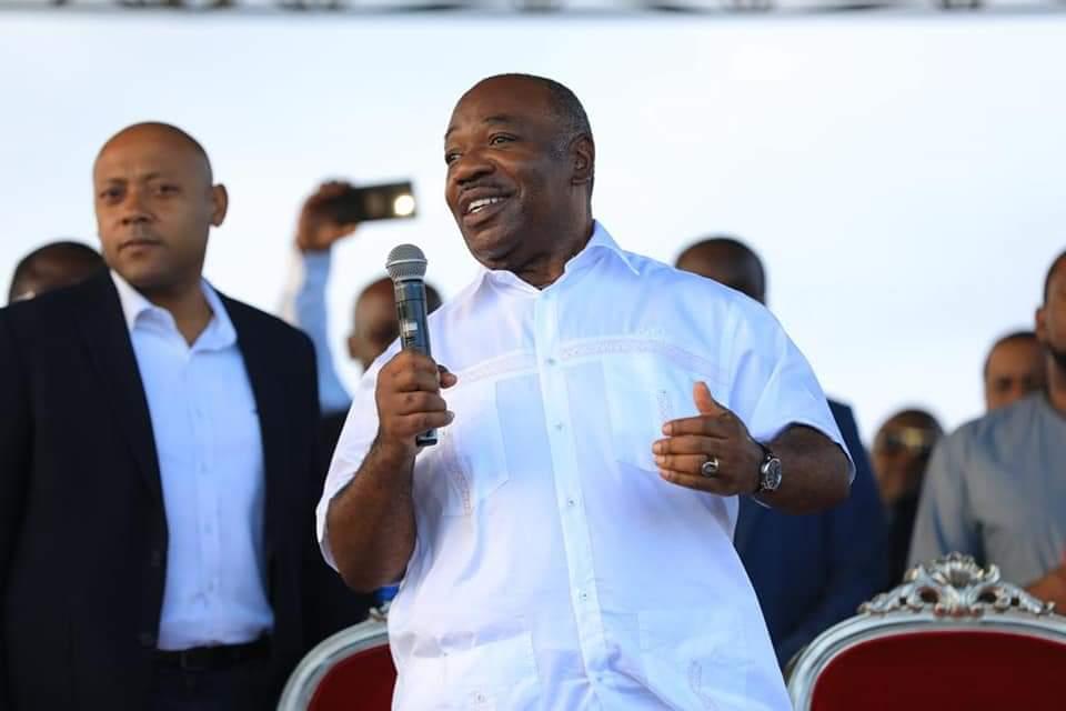 Gabon: Ali Bongo fait son premier meeting après son avc