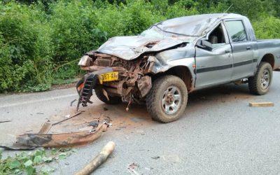 Gabon: un blessé grave après la collision entre un vehicule et un éléphant