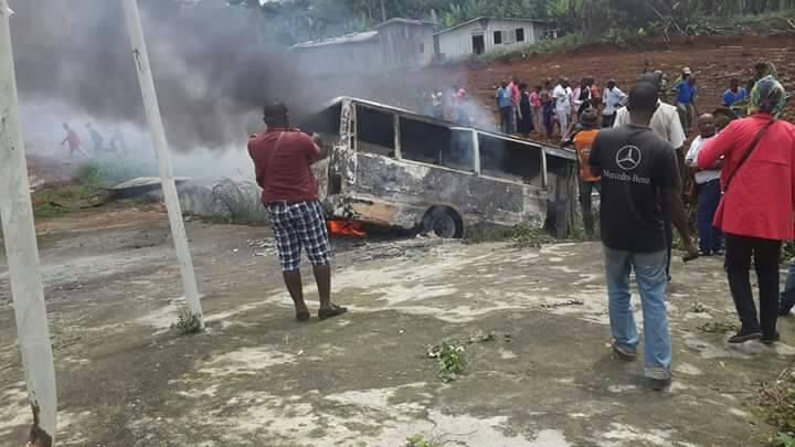 Gabon: six personnes meurent calcinées dans un bus à Kango