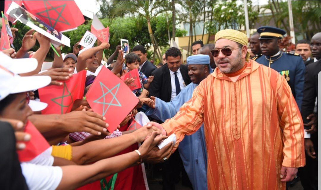 Le roi du Maroc passe Noël au Gabon
