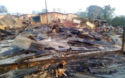 Gabon: Ali Bongo fait brûler des villages entiers par l'armée